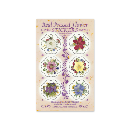 Floral Stationery Seals Image