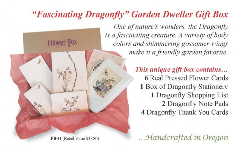 Dragonfly Flower Box